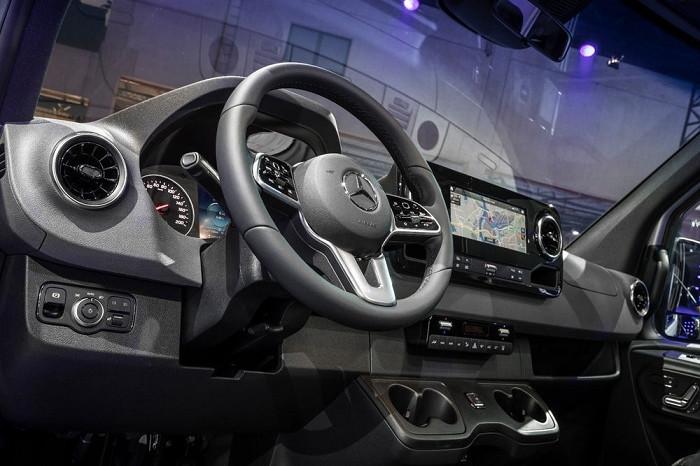电气化+车联网:梅赛德斯新款eSprinter将于2019年到来