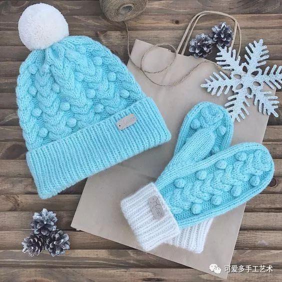 毛衣,手套,帽子,围脖……有了这些编织花样,怎么织都好看!(附图解)