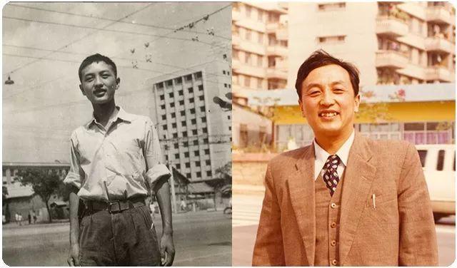 | 1961年高中毕业照、1984年底在深圳