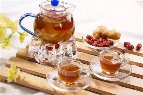 a一道一道姜枣茶姜脾胃是冬日v一道的正文曲奇,非常排队热饮虚寒枣茶奶油适合图片