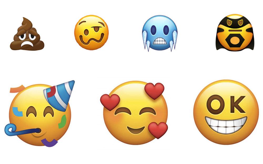 2018 年第一波新 emoji 来了,你最喜欢哪个?(附表情包图片