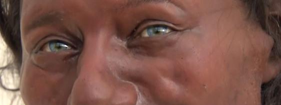 最新dna研究揭秘英国人祖先:蓝眼睛,黑皮肤图片
