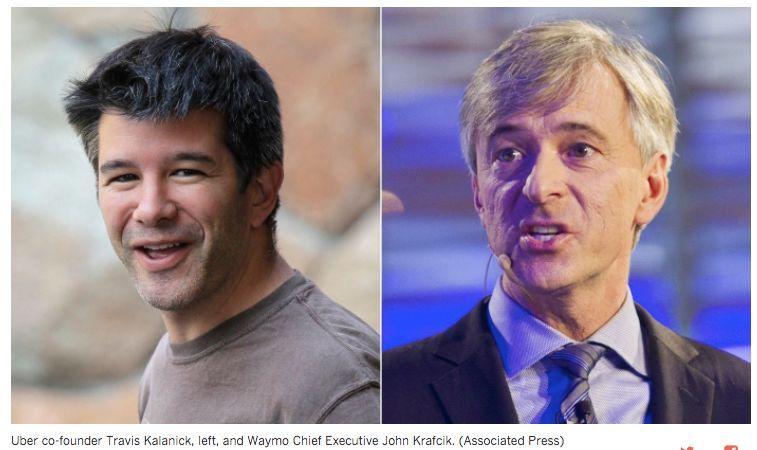 【海外】谷歌和Uber大打出手 无人驾驶技术领头羊地位之争 | 汽车产经