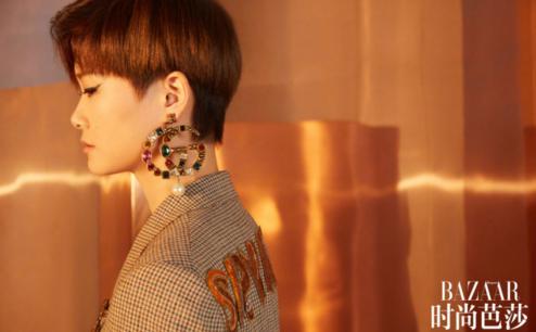 冬装春装,看看李宇春的服装,气质好到时尚芭莎都来找她拍封面了