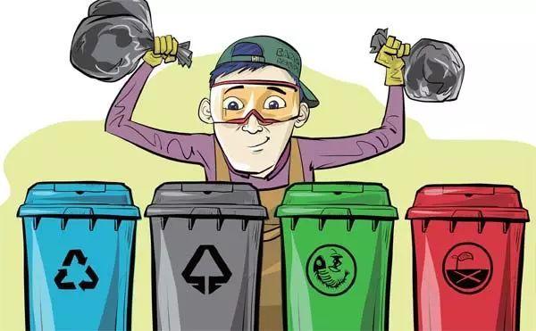 9. 学会垃圾分类,及时清理图片