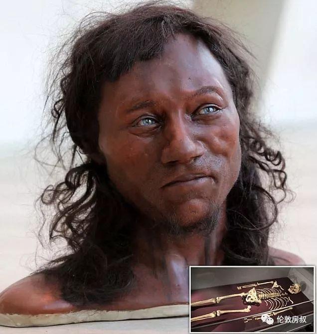 歧视吗科学家证实英国人的祖先是黑人图片