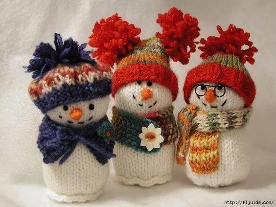 宝宝喜欢极了!旧毛衣的线编织成娃娃!(附视频教程)
