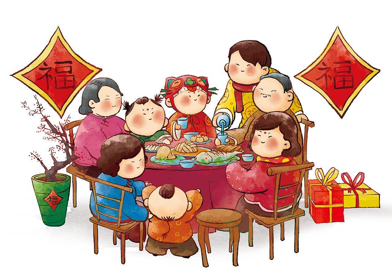 春节吃饭该怎么做 总结餐桌礼仪来教宝宝吧