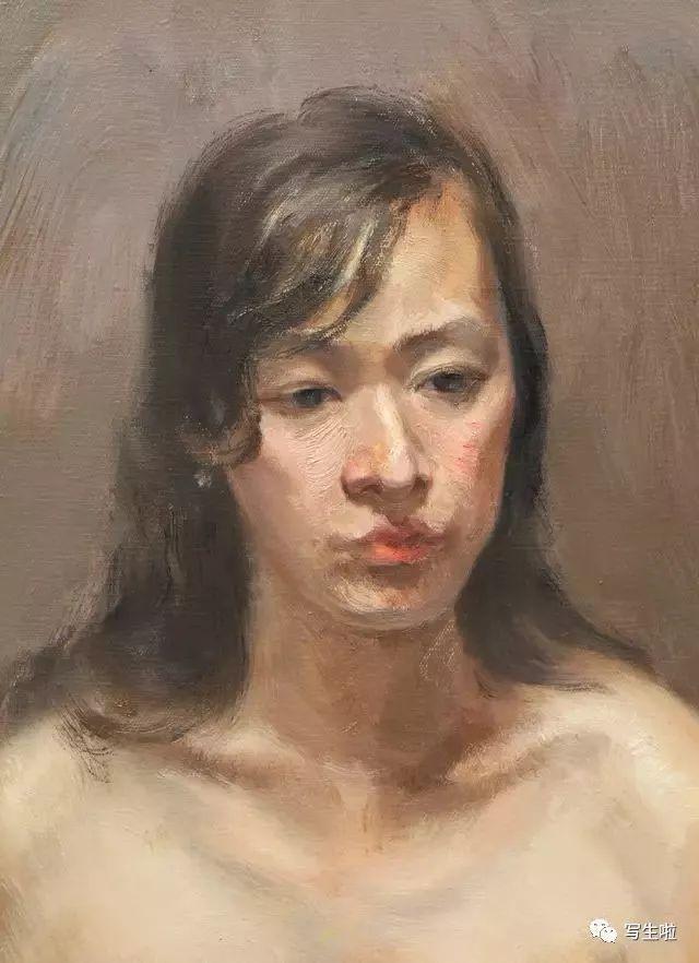 人体艺术32p_【写生啦】 中国油画院课题组艺术家徐志广——肖像
