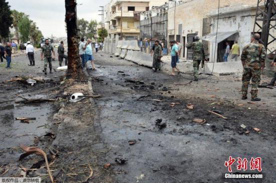 """叙利亚外交部谴责美国空袭行动 称系""""战争罪行"""""""