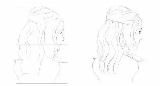 教程 一步步教你画出漂亮的头发