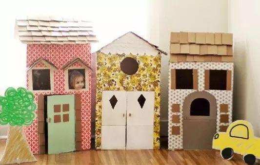 小纸壳大创意-丰富多彩的手工制作