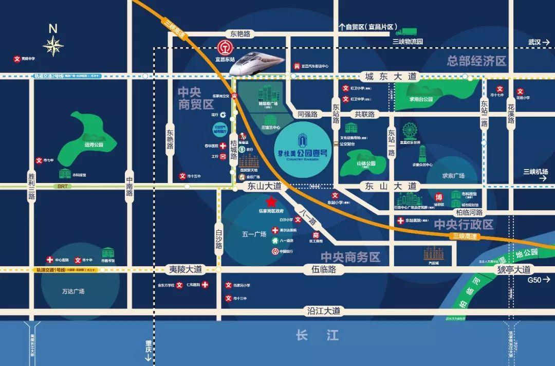 项目地址:湖北省宜昌市伍家岗区同强路与东站路交汇处 (宜昌东站对面)图片