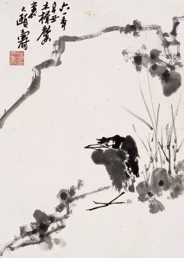 潘天寿:花鸟画的为主,应以势布置!_搜狐教程_搜狐网文化视频折叠伞图片