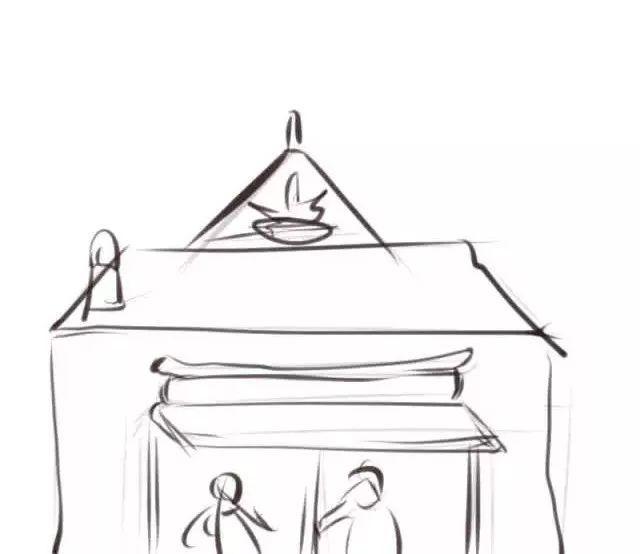 19幅简笔画带你重温外婆口中的 小年故事