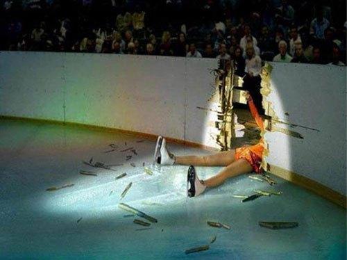 花样滑冰选手也有尴尬瞬间,这些搭档真是太坑爹