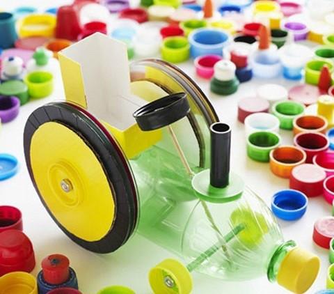 【环创手工】幼儿园瓶盖创意手工制作!老师们转发收藏