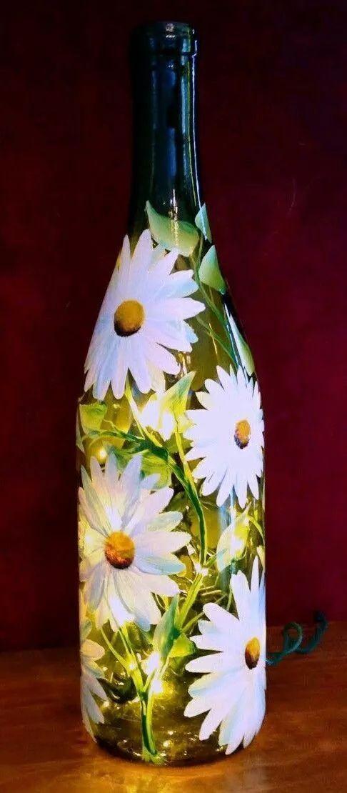 简单易学的瓶子彩绘,你一定会喜欢!