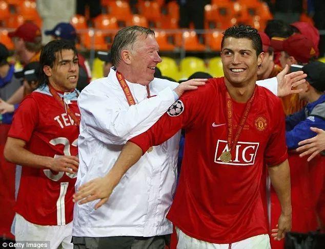 c罗帮助曼联获得欧冠冠军图片