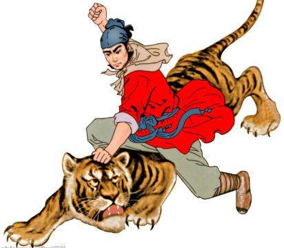 武松赤手空拳景阳冈打虎,但是比起此人就是小巫见大巫