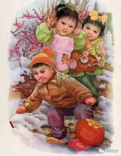 早上好!祝您开心每一天!一组精美的年画送给你,最后一图片