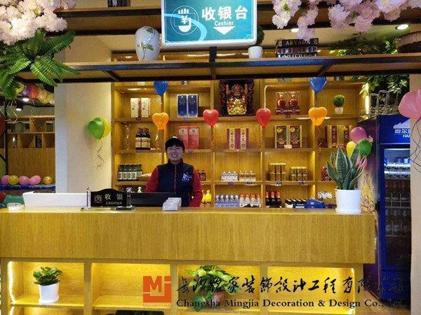 连锁餐饮店设计,新湘菜时代的连锁中式餐饮店设计,卡座布局,墙面装饰图片