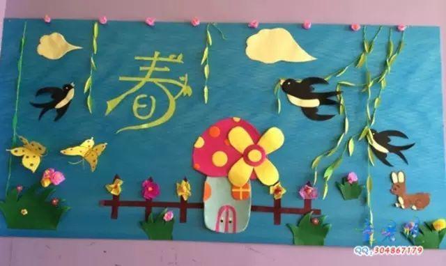 【春季环创】2017年幼儿园春季主题墙饰,史上最全完整