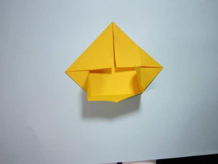 简单的收纳盒折纸步骤图解, 如何折小狗收纳盒子