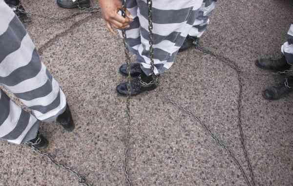 美国当地的重刑女囚犯