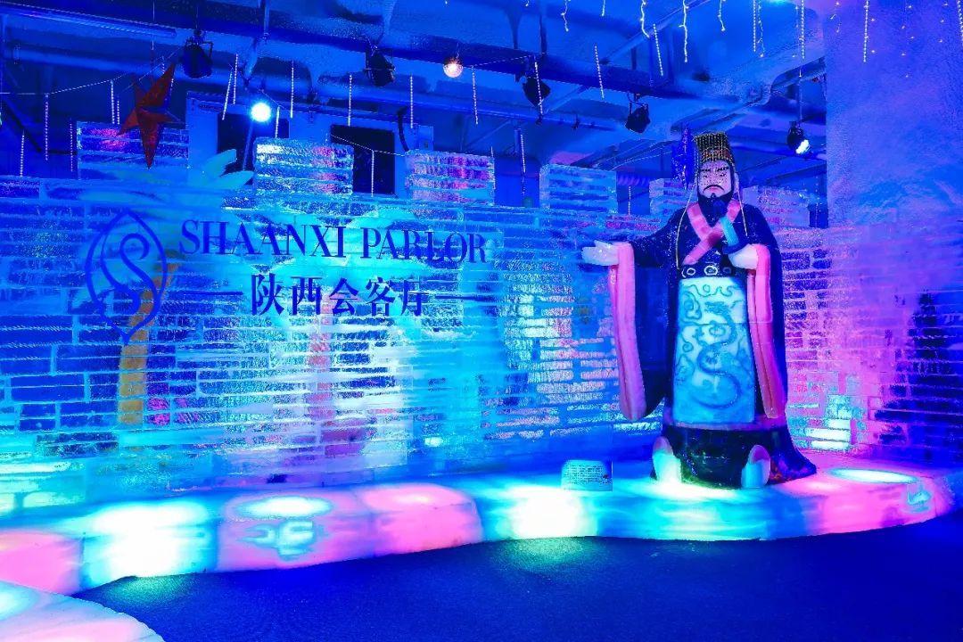 各种冰雕展览,游乐游玩项目等一系列精彩纷呈的冰雪活动,室内造型各异图片