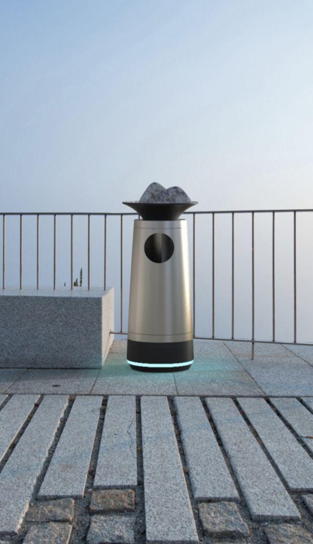 城市家具——装饰性公共垃圾桶设计图片