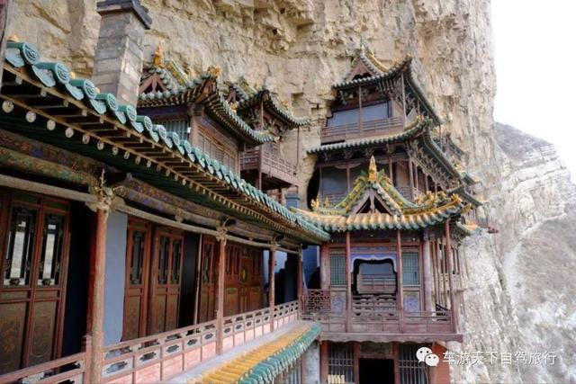 不要只知道恒山悬空寺,中国竟然有八大悬空寺,几去过几个
