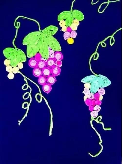 【寒假手工】创意葡萄手工制作大全,葡萄一串串 手工作品
