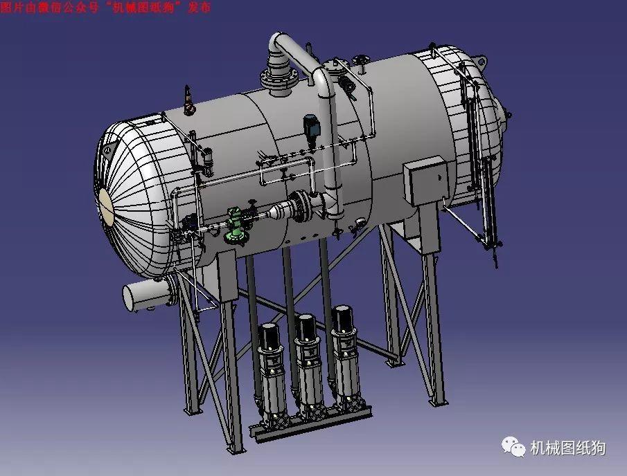 【工程机械】液压控制罐模型3d图纸 stp格式