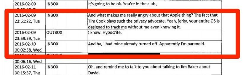 短信泄密:FBI特工称苹果库克是伪君子