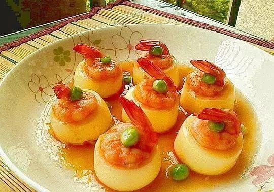 【SEE饮食】今日食谱:日本豆腐蒸虾仁