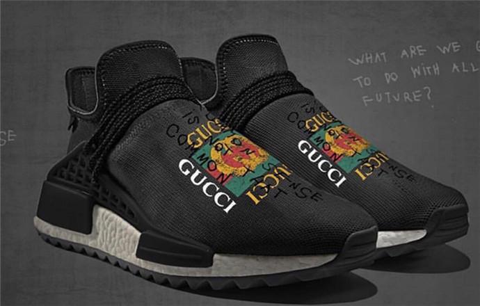 GUCCI x adidas NMD Hu颜值高的过分