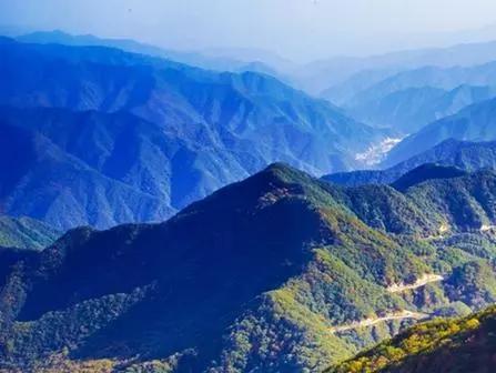 秦岭山水,美在柞水图片