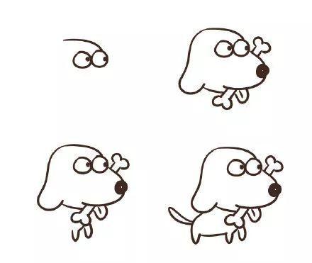 宠物 正文  画马难画走,画兽难画狗.