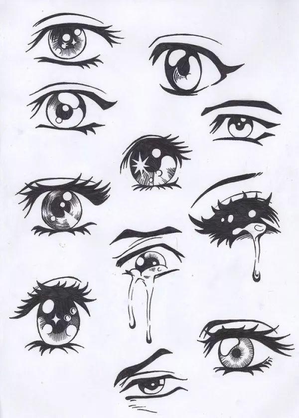 听说眼睛最难画 各种眼睛绘画技法全部告诉你