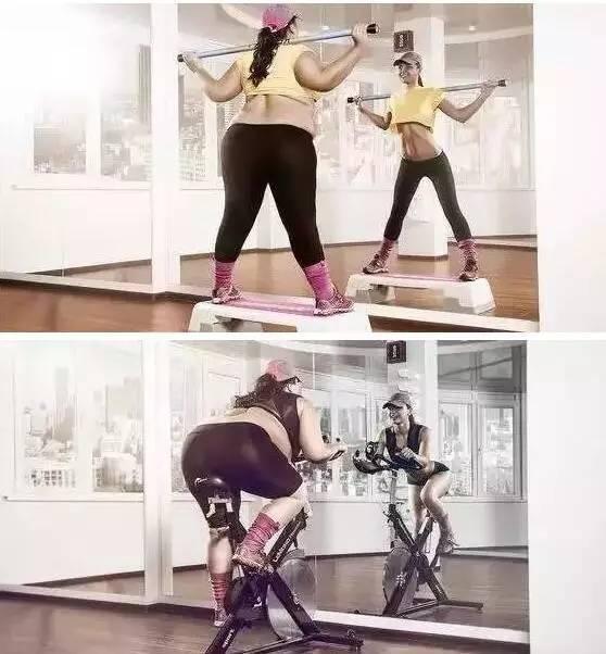 这是我见过最励志的健身海报,看过的胖子都瘦了!
