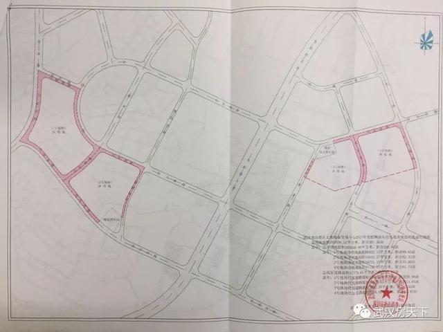 潜江东荆新区规划图