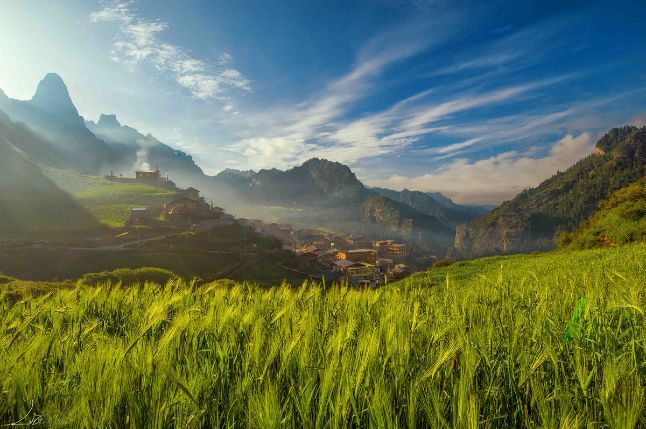 扎尕那:甘肃的最美藏地