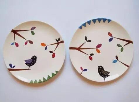 幼儿园纸盘绘画,小物件成就大艺术!图片