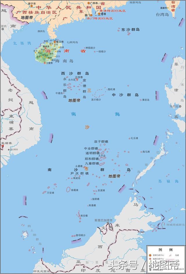 三沙市,中国最大的城市,海域200多万平方公里