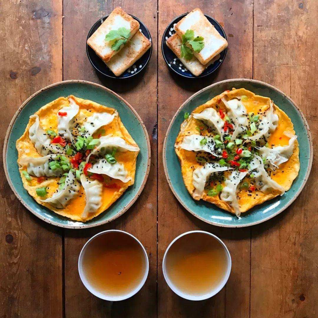 西式早餐摆盘_为爱做早餐,在 Ins 上吸粉77万的爆红博主,把家搬到了上海