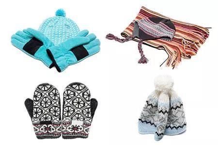 冬天送围巾手套