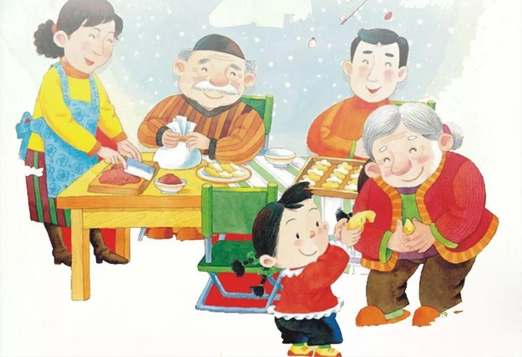 一起看属于小朋友的春节晚会图片