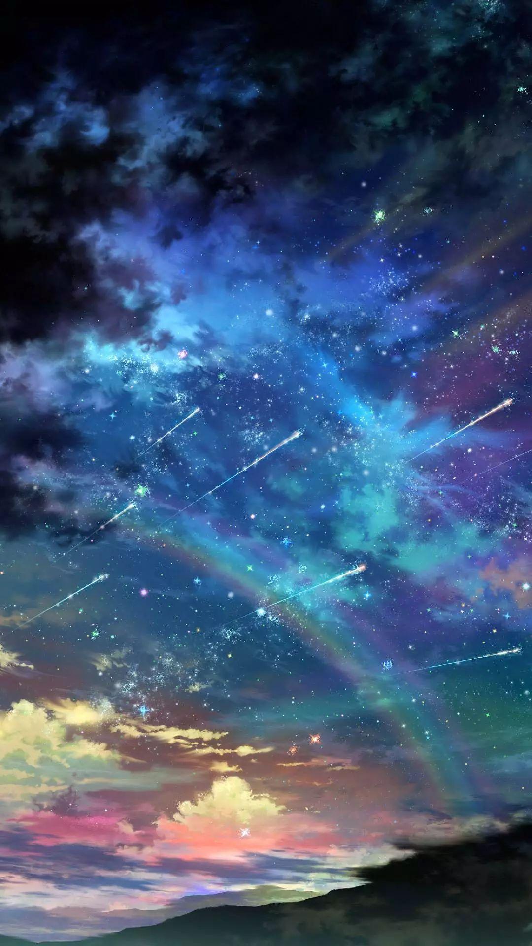 星空壁纸梦幻少女 风景梦幻星空壁纸 梦幻星空 紫色梦幻星空 www 图片