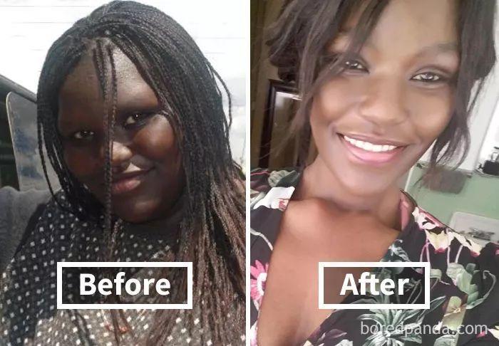 减肥之后脸会变小吗图片